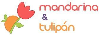 logo mandarina y tulipan
